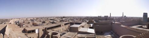 Khiva Узбекистан panorama.JPG